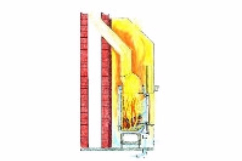 Der Warmluftkamin Bietet Einen Geschlossenen Feuerraum Mit Sichtscheibe Und Gibt Den Grossteil Seiner Warme Uber Konvektion Warmluft An Raum Ab